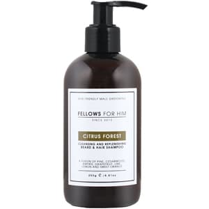 Fellows for Him Citrus Forest Cleansing and Replenishing Beard & Hair Shampoo
