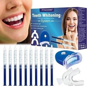 PTKOONN Gel Sbiancante Denti LED